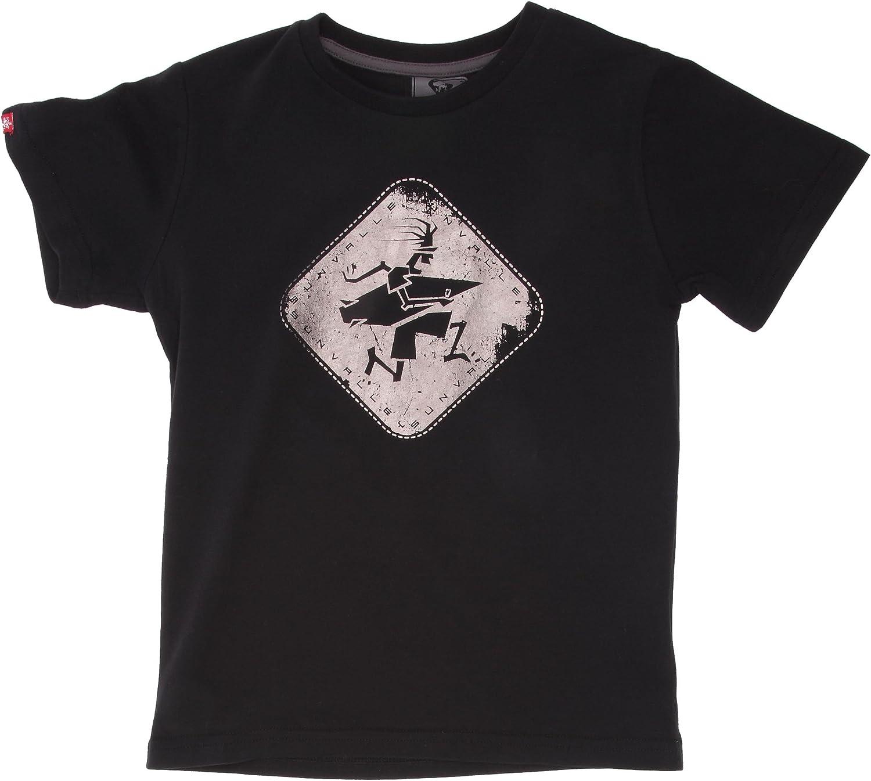 Sun Valley Moka Junior-Camiseta de Manga Corta para ni/ño