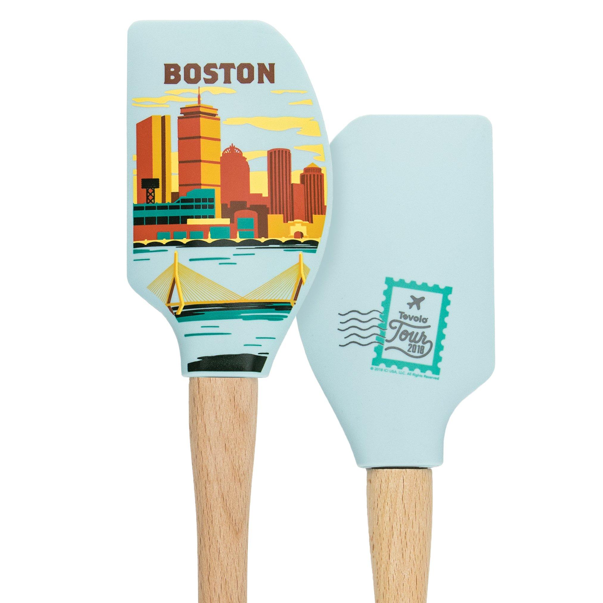 Tovolo 81-28432 Boston Spatulas and Turners, One Size, Wood