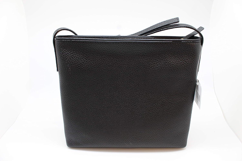 99b2c2f930b1 Amazon.com  Kate Spade New York Chester Street Dessi Pebbled Leather  Shoulder   Crossbody Bag (Black)  Shoes