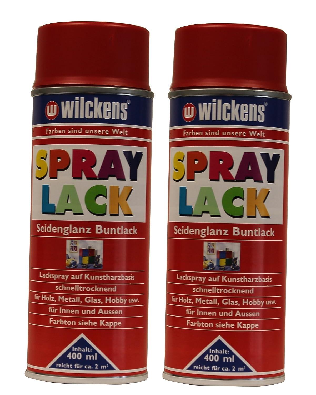 Glashobby 4 All.Wilckens Spray 2 X Satin Stained Varnish 400ml Amazon Co Uk