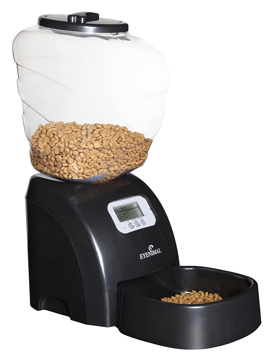 Eyenimal Distributeur Automatique Pet Feeder Croquettes Chien et Chat Agrobiothers NGDISCRO003