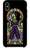 Customized Phone Case Compatible with iPhone X 10 - Name K Fighting Powerful Men Anime Parody Design