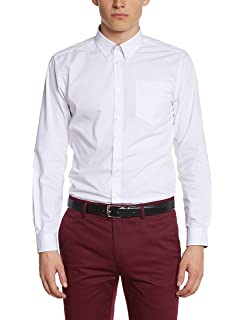 Merc of London Pilgrim Camisa, (Red/Blue 992), 41 (Talla del ...