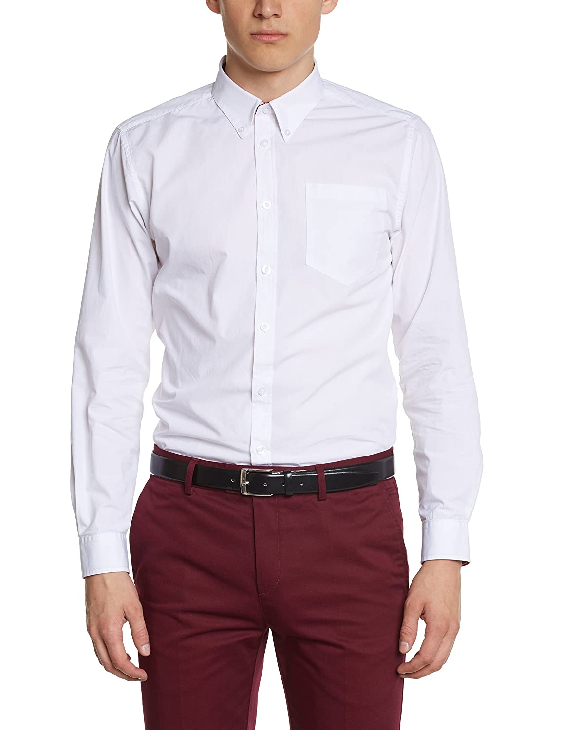TALLA L. Merc of London Camisa para Hombre