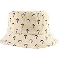 ZLYC Unisex Cute Fruit Print Bucket Hat Summer Fisherman Cap