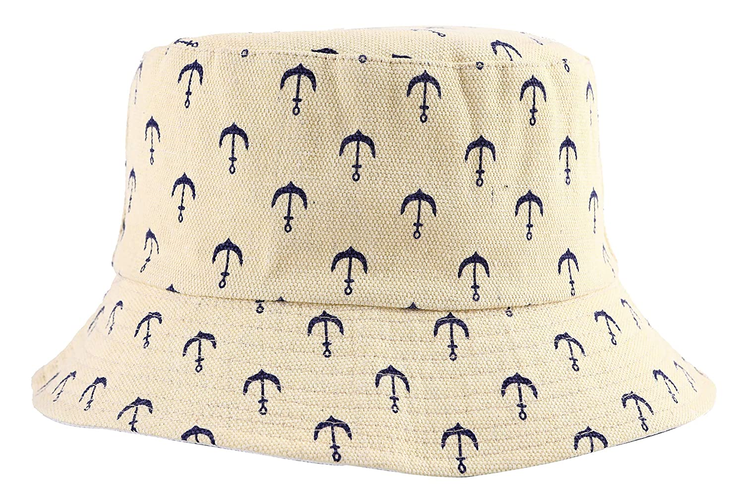 a73e3091d ZLYC Unisex Cute Print Bucket Hat Summer Fisherman Cap