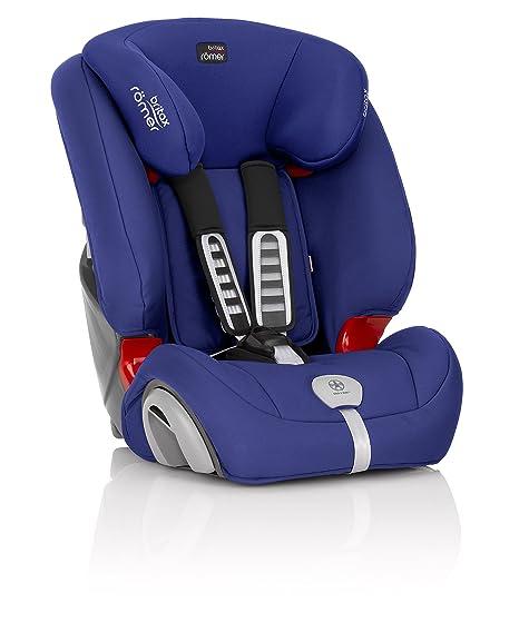 Britax Römer Kindersitz 9 Monate 12 Jahre I 9 36 Kg I Evolva 123 Plus Autositz Gruppe 1 2 3 I Ocean Blue Baby
