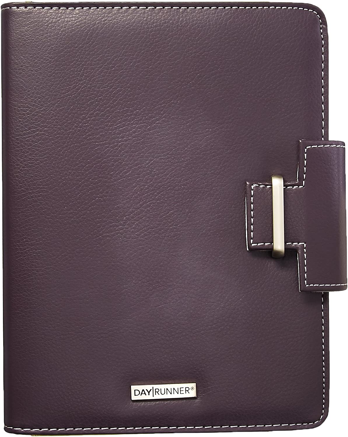 Day Runner 4010214 Terramo Refillable Planner, 5 1/2 x 8 1/2, Eggplant