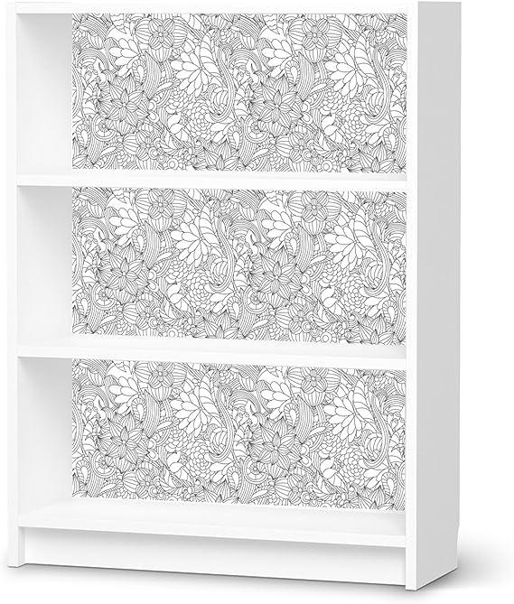Muebles de Tattoo para Ikea Billy Estantería 3 compartimentos ...