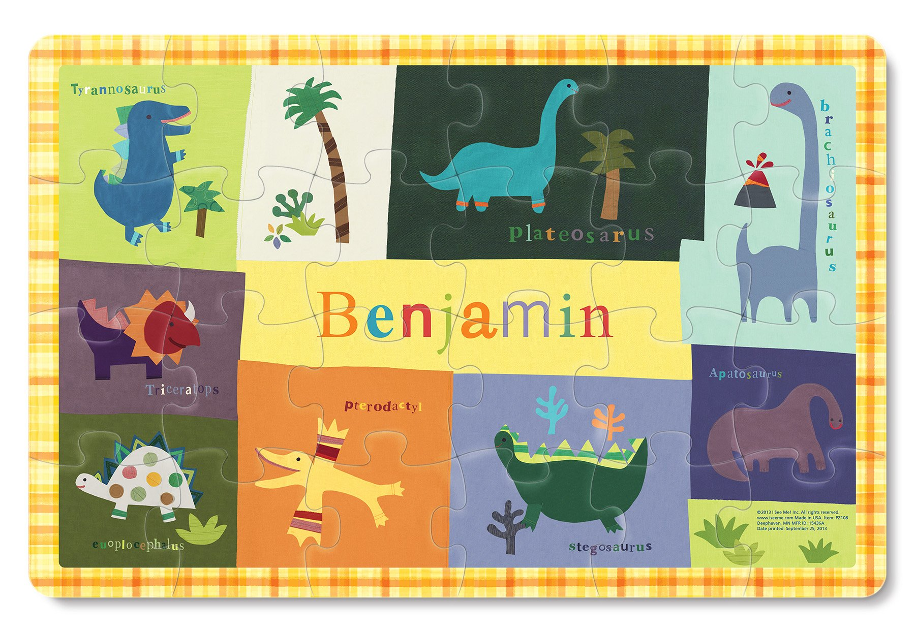 Personalized Custom Name Puzzle for Kids