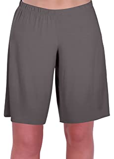 dfde3b8ab842 Star Ladies Jersey Relaxed Comfort Elasticized Flexi Stretch Womens Shorts  Plus Sizes