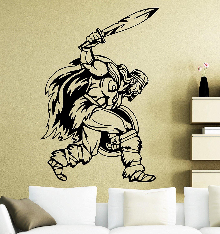 Contemporary Samurai Wall Decor Ornament  All About Wallart