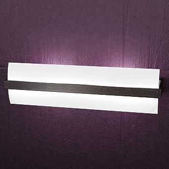 applique a muro virke lampada da parete 2 luci 50x15cm design ... - Soggiorno Wenge Moderno 2