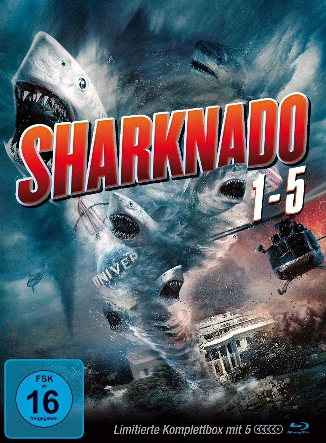 Sharknado Box Vol. 1-5 Blu-ray Edition Blu-ray Alemania: Amazon.es ...