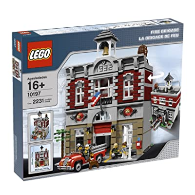 LEGO Creator Fire Brigade 10197 (Discontinued by manufacturer): Toys & Games