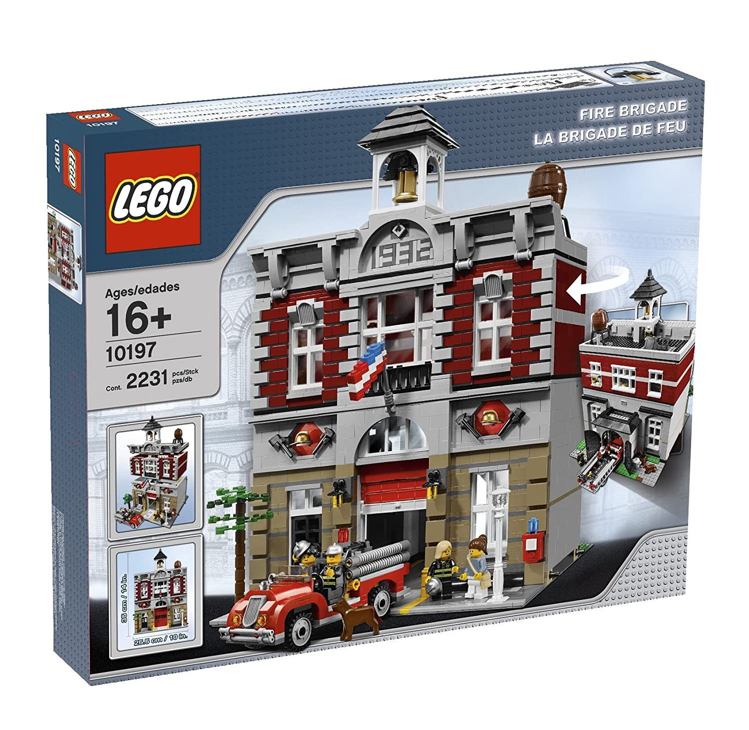 Top 9 Best LEGO Fire Station Sets Reviews in 2020 9
