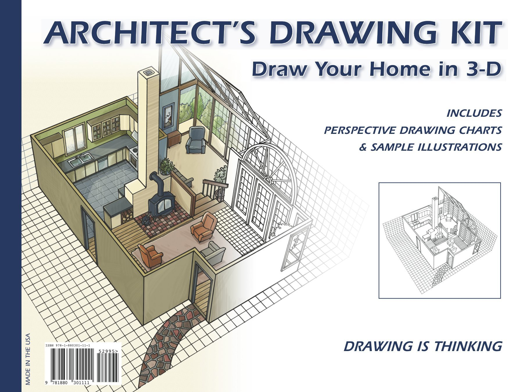 Architectu0027s Drawing Kit: Draw Your Home In 3 D: Daniel K. Reif, Peter Beck:  9781880301111: Amazon.com: Books