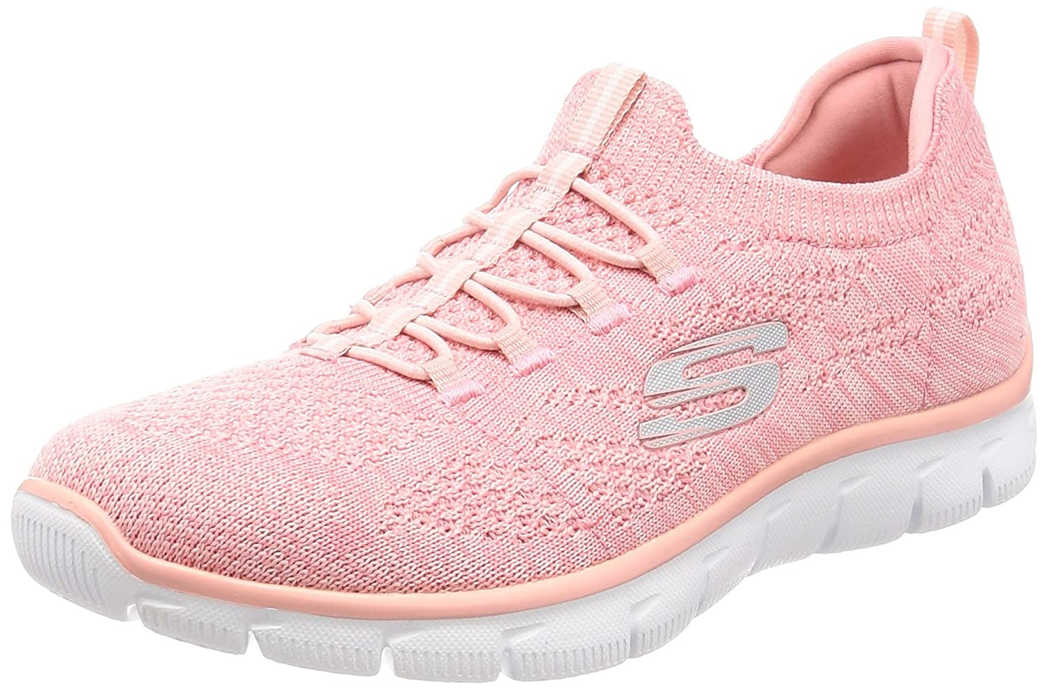 Skechers Sport Women's Empire Sharp Thinking Fashion Sneaker B071GRQ11S 6 B(M) US|Pink