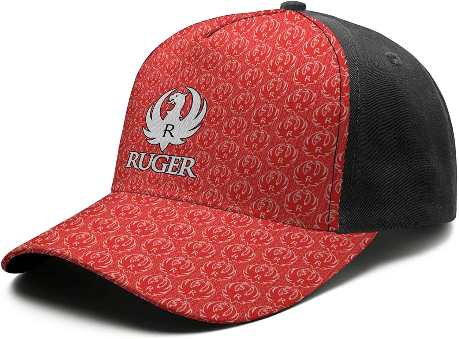 Ruger-/&-Company-Firearms-White-Marble Camo Hat for Mens Womens Dad Hat Adjustable Outdoor Strapback Hat Hiphop Hat Cap