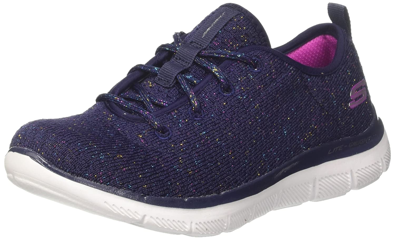 Skechers Skech Appeal 2.0-Bold Move, Zapatillas para Niñas 27 EU|Azul (Navy/Multicolour)