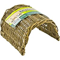 Ware Manufacturing Hand Woven Willow Twig Tunnel Small Pet Hideout, Large