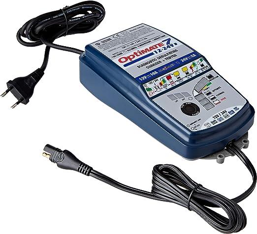 Optimate Tm260 Batterieladegerät Optimate7 12v 24v Blue 7 Selectable 12v 5a 24v 2 5a Auto