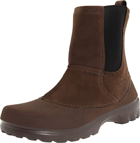 crocs Greeley Greeley - Botas para Hombre, Color marrón, Talla 42: Amazon.es: Zapatos y complementos