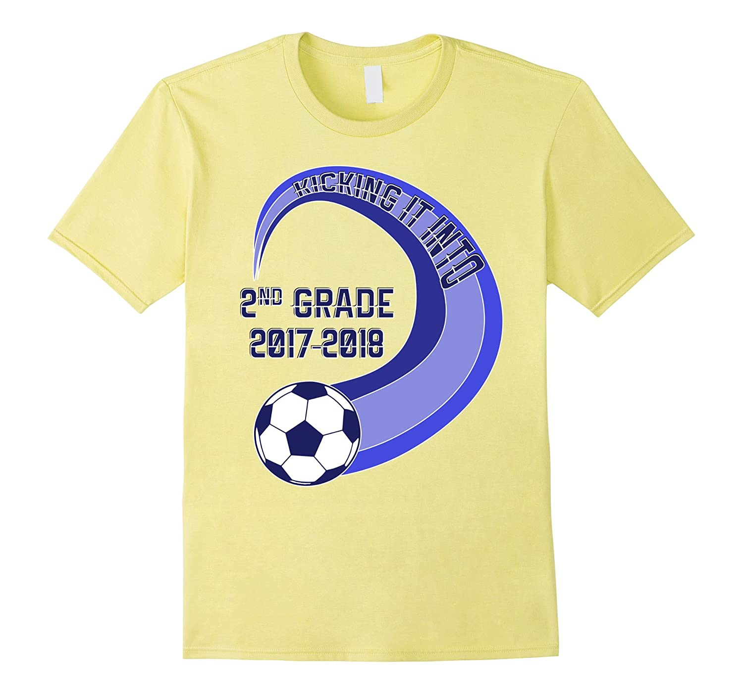 Back to School 2017 Soccer First Day 2nd Grade T-Shirt-Art