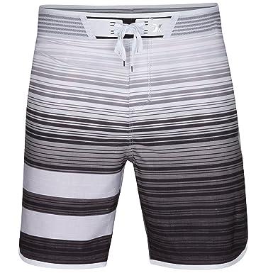 "7bbc5ace36 Hurley Men's Phantom Hyperweave Block Party Code 18"" Boardshorts Black  Swimsuit Bottoms"