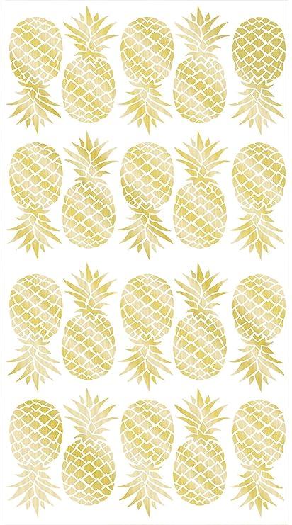 Wall Pops WPK1908 Pineapple Wall Art Kit - - Amazon.com