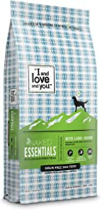 """""""I and love and you"""" Naked Essentials Dry Dog Food - Natural Grain Free Kibble (Variety of Flavors)"""