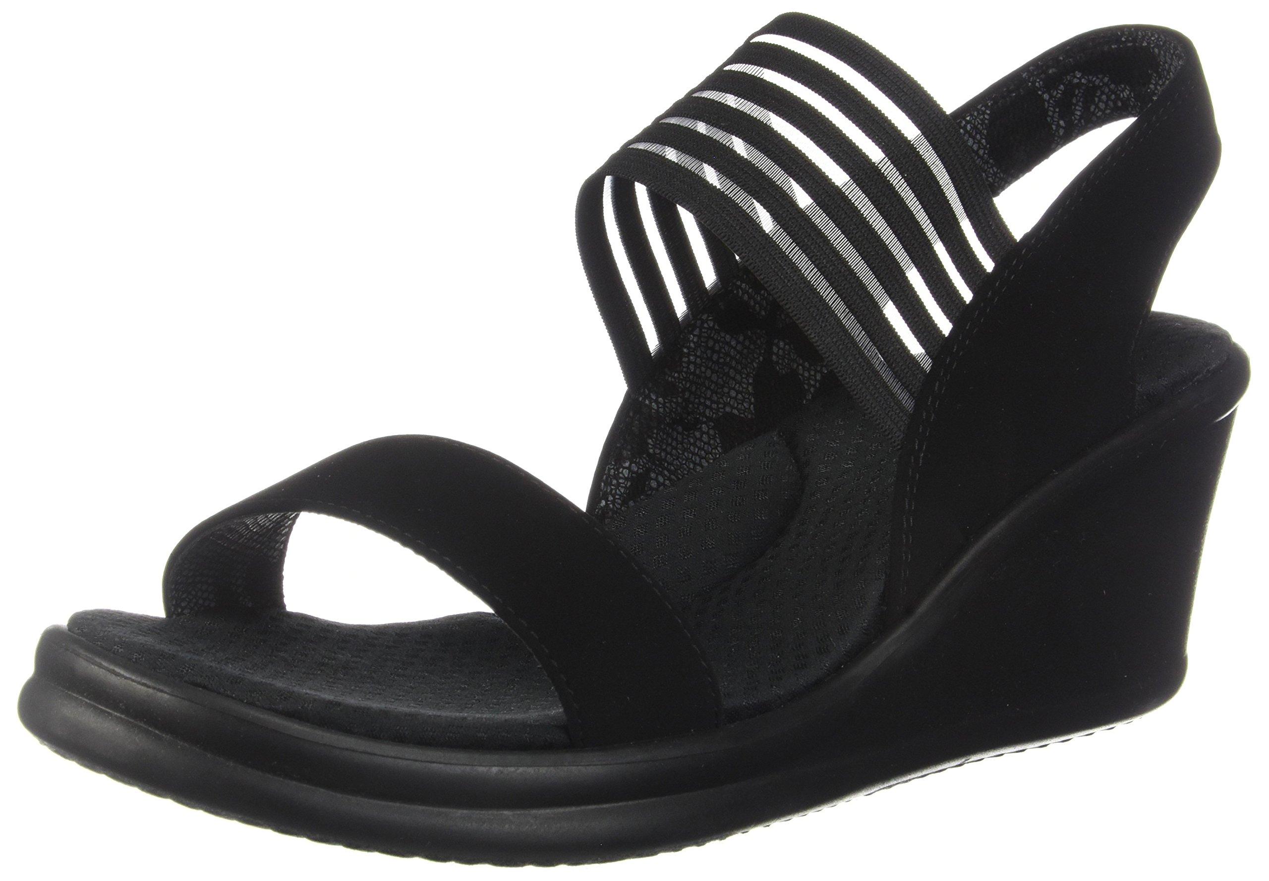 9323ee368ccf Skechers Cali Women s Rumblers Sci-Fi Wedge Sandal