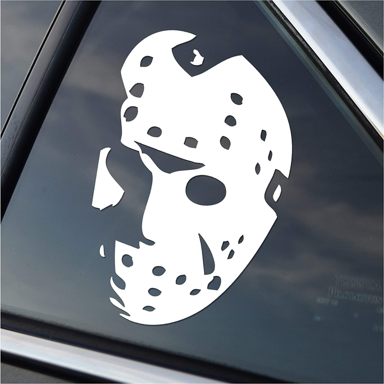 Friday the 13th Jason Voorhees Hockey Mask 1//6 Scale Custom Waterslide Decals