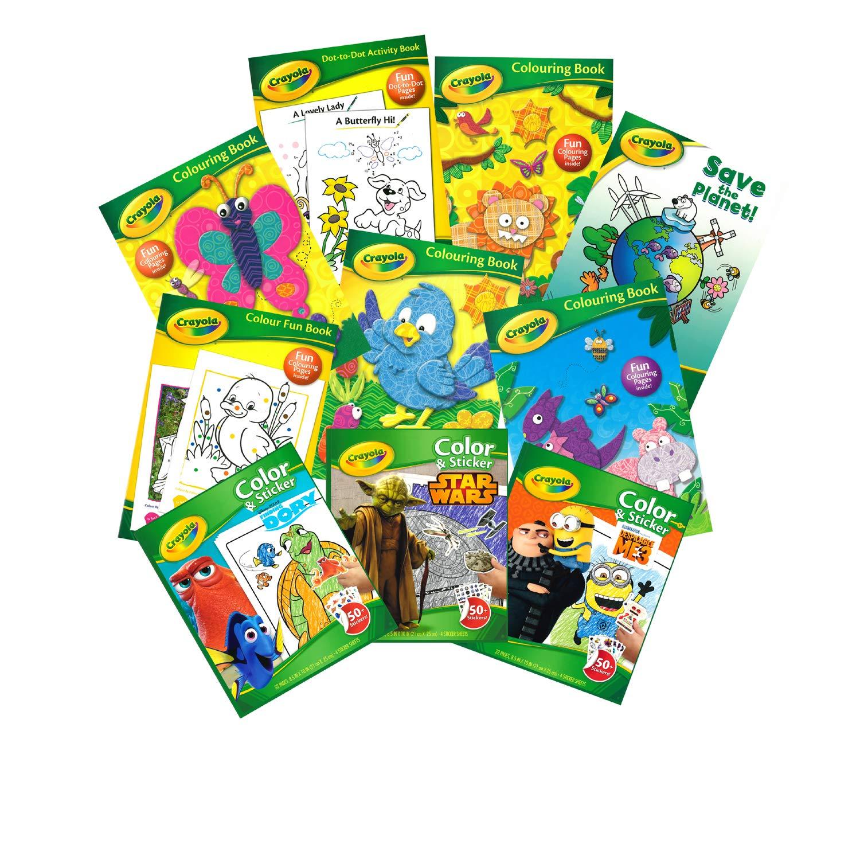 32 Fun Colouring Pages for Kids Crayola Colour Colouring Fun Activity Book