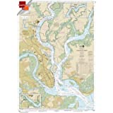 Paradise Cay Publications, Inc. Small Format NOAA Chart 11524: Charleston Harbor