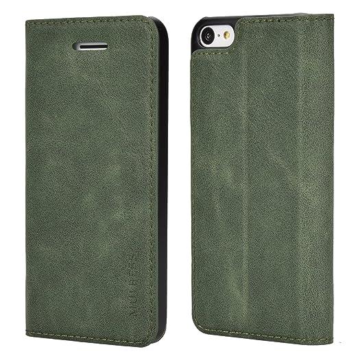 8 opinioni per Custodia iPhone 5c, Cover iPhone 5c, Mulbess [Portafoglio Protettiva] Custodia
