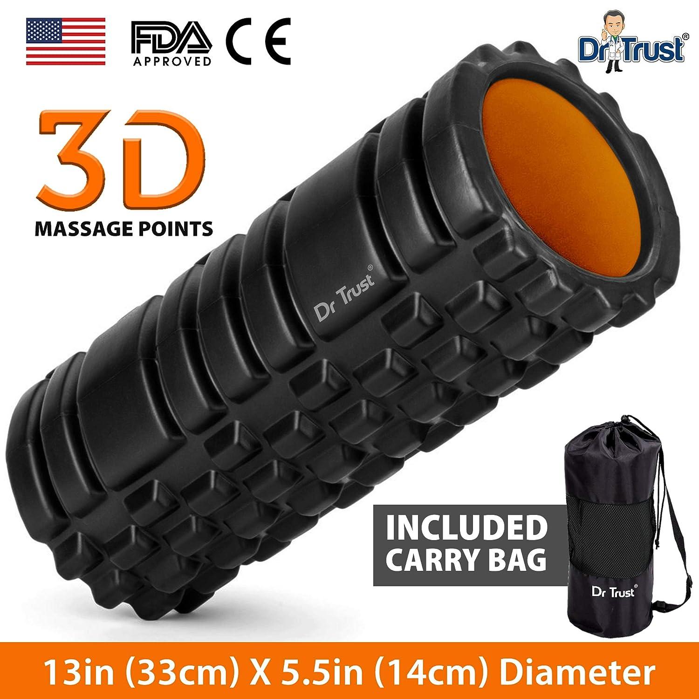 Dr Trust Long Acupressure Foam Roller For Deep Tissue Muscle