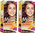Garnier - Movida - Coloration temporaire sans ammoniaque Acajou - 30 Acajou Lot de 2