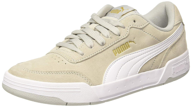 Puma Unisex's Caracal Sd High Rise White Tea Sneakers