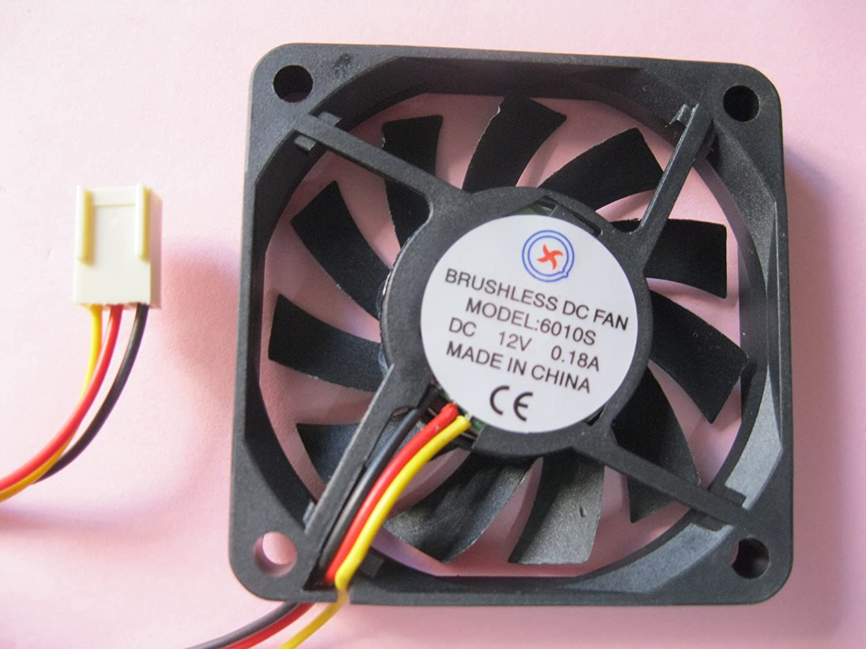 10 pcs Brushless DC Cooling Fan  8010S  12V 2 wires