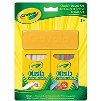 Crayola 98268 - Kit Craies et Brosses - Loisir Créatif