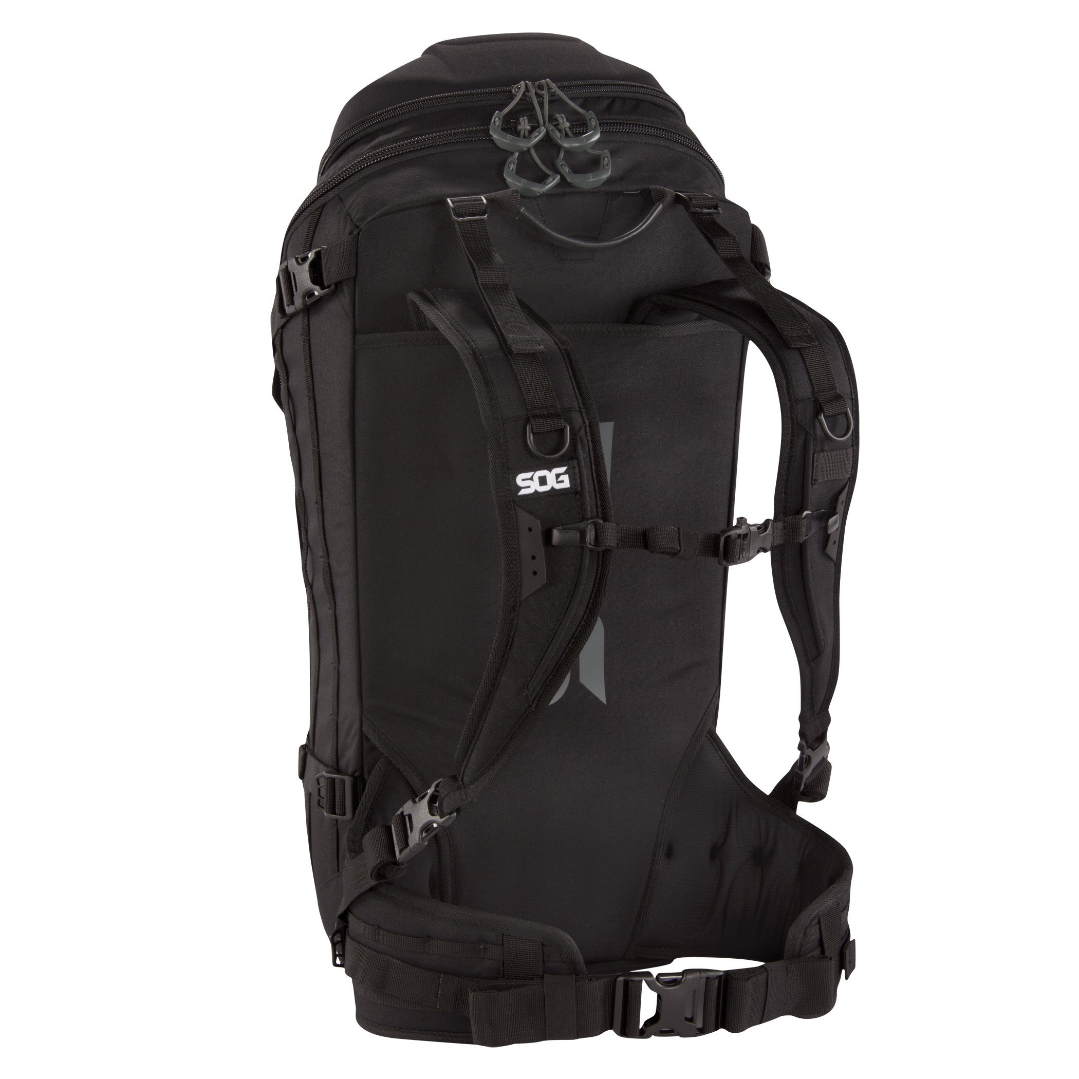 SOG Seraphim Backpack CP1006B Black, 35 L by SOG (Image #2)