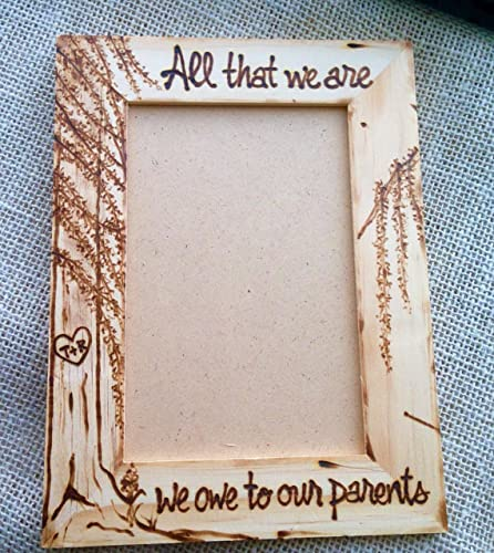 Amazoncom Inspirational Wedding Frames For Parents Of The Bride