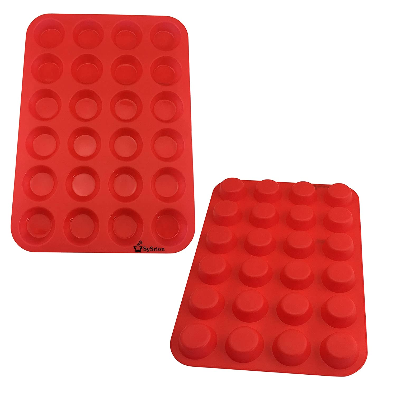 red silicone molds for fat bombs