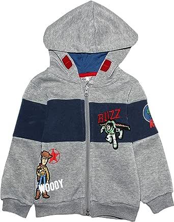 Disney Pixar Toy Story Sudadera con capucha para niños y niñas, con diseño de personajes de Buzz Lightyear de 2 a 8 años