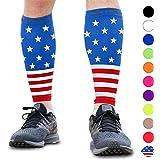 Calf Compression Sleeves - Leg Compression Socks for Runners, Shin Splint, Varicose Vein & Calf Pain Relief - Calf Guard…