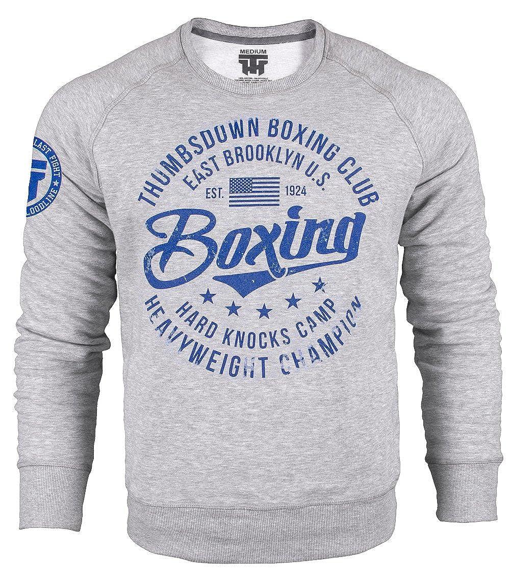 Thumbsdown Boxing Club. Crewneck Sweatshirt. East Brooklyn