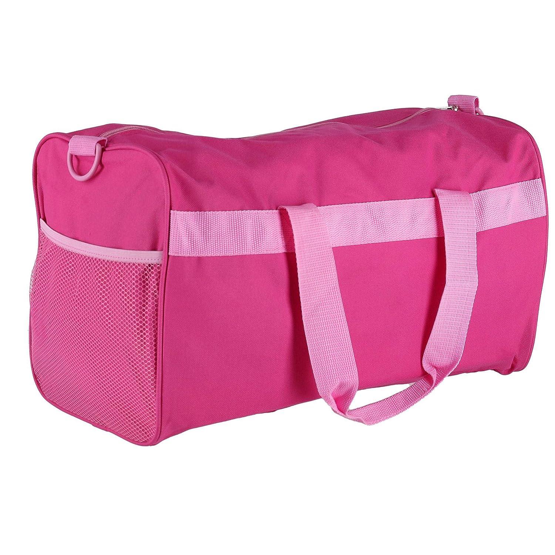 Disney Kids Minnie Mouse Travel Duffle Bag Pink