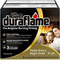 Duraflame Gold 4.5lb 3-hr Firelog (9-Pack) - Packaging May Vary