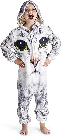 Pijamas de un Pieza Niño Niña Unicornio Conejo Koala Perro ...